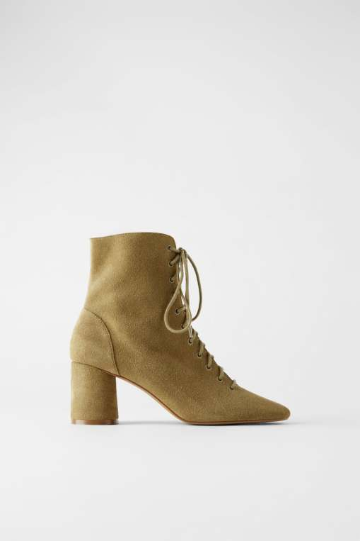 lace up zara boots